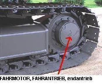 Miniexcavadora - Otro FAHRMOTOR,endantrieb,final drive ALLE BAGGER
