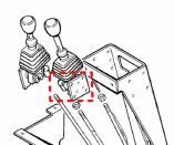 O&K Bedienhebel  L 6 -10 Reparaturlösung Winkelgelenk