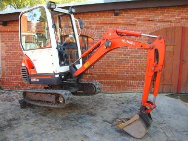 Mini-pelle - Kubota KX41-3V Minibagger excavator Hammerhydraulik