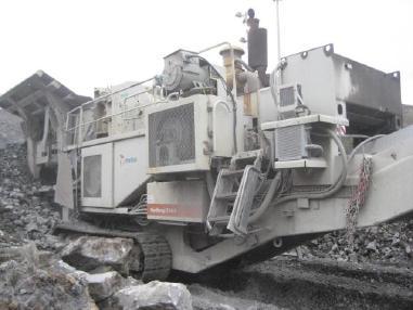 mobilní drticí zařízení - Metso-Minerals LT1415