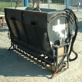 stroj za rezanje asfalta - Bomag Splitstreuer Bomag BS 180