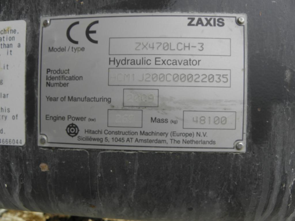 Koparka łańcuchowa - Hitachi ZX 470 LCH-3