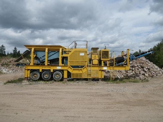 Metso-Minerals Loro & Parasini S135