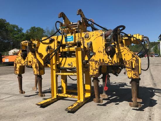 Windhoff mobile Stopfmaschine AST 8 für Schotter