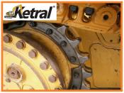 Caterpillar D6M LGP Track Chain Undercarriage Roller Sprocket