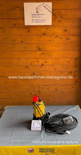 Wacker Neuson PST 2-400 Tauchpumpe mit Motorschutz & Schwimmer NEU