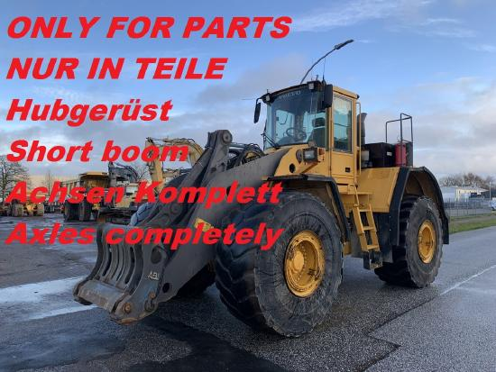 Volvo L220 E-F Achse - Axle - Hubgerüst - short boom Dismantled for spareparts