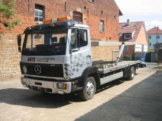 Mercedes Benz 817 L Doppelstock Vollausstattung Luftgefedert