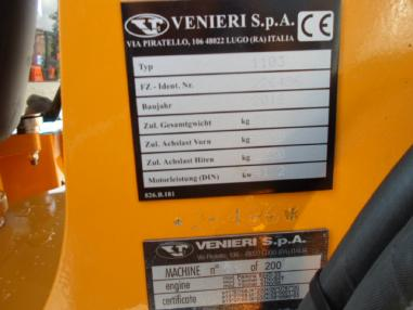 Retroexcavadora - Venieri VF3.63G