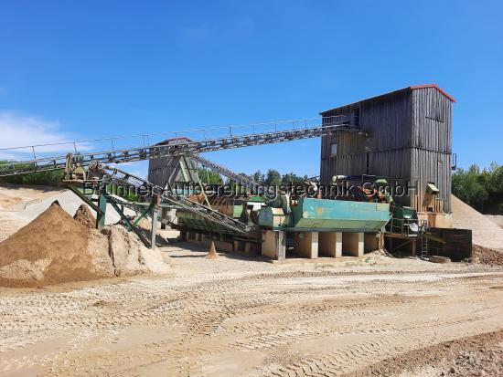 Ratzinger Stationäre Sand-Kiesaufbereitungsanlage ca. 160 t / h