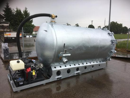 S-Vac 5,0m³ Saugfass