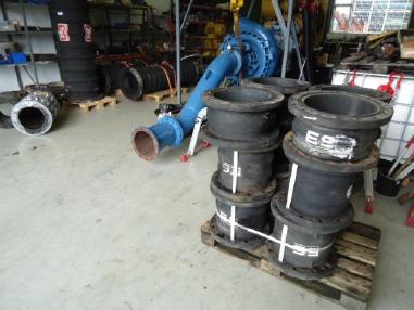 Pogłębiarka ssąca - Pozostałe Saug/druck schlauch Suction/discharge hoses
