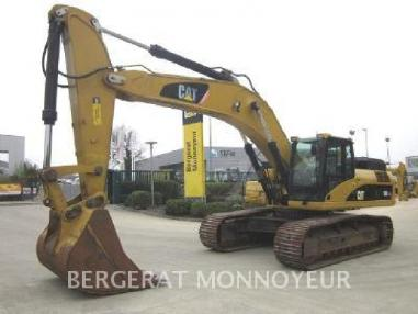 Tracked excavator - Caterpillar 336DL