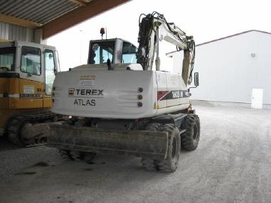mini bager - Terex-Atlas 1605M