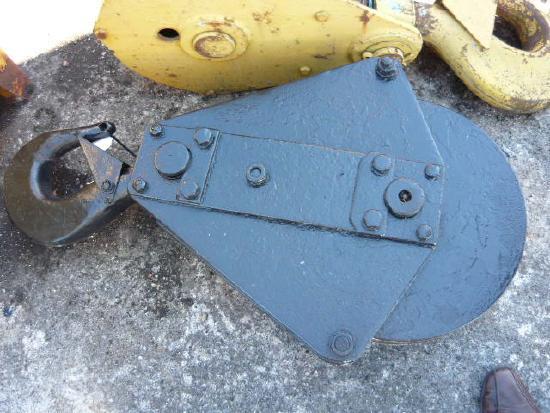 Hook blocks / Kranflaschen