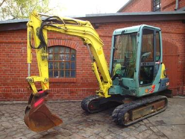 mini bager - Yanmar B 30 VCR Minibagger excavator Hammer 3,15to. SW