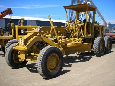 greder - Caterpillar CAT 12G _ 1980