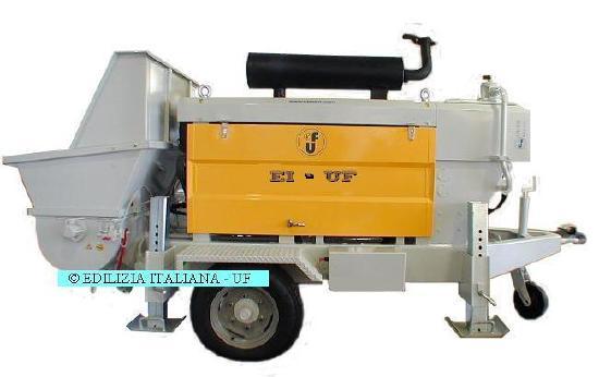 EDILIZIA ITALIANA-UF Concrete Pump / Pompa Calcestruzzo / Beton Pomp - P20