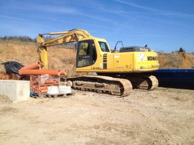 Excavadora de cadenas - Komatsu PC210 LC-6
