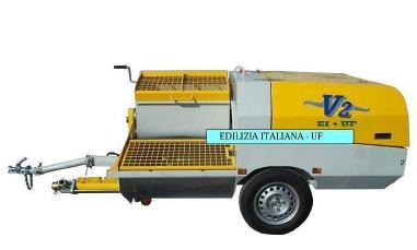 Overige - EDILIZIA ITALIANA-UF Rendering Machine / Pompa Intonacatrice / Egaline Spuitpomp - V2