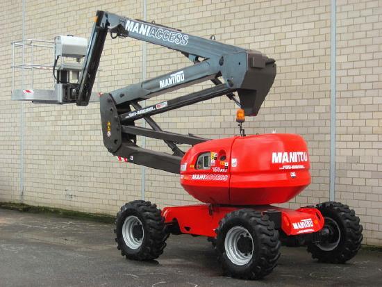 Manitou MANITOU 160 ATJ 4x4x4 - 16.5m / seitlich 9.5m