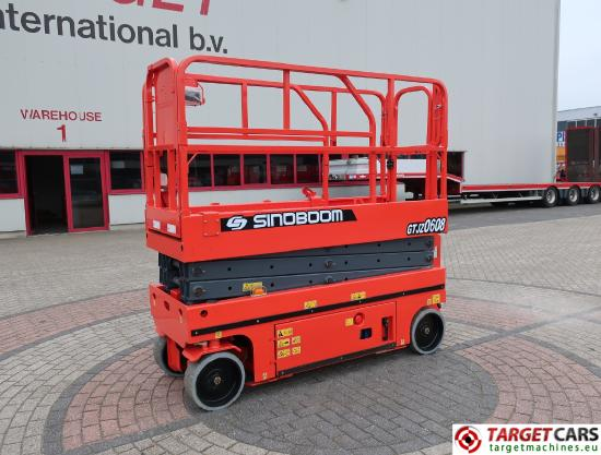 GTJZ0608 Electric Scissor Work Lift 830cm NEW
