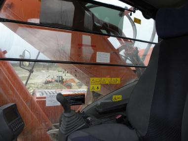 Tracked excavator - Hitachi ZX 470 LCH-3