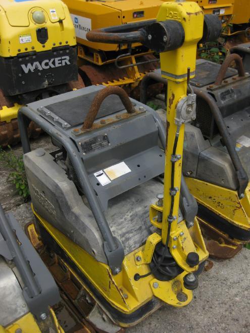 Wacker [D861100645] DPU 6055 mit Anbauplatten, guter Zustand, sofort einsatzfähig, mit Elektro-Starter
