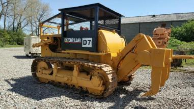 Бульдозер на колесном ходу - Caterpillar D7F