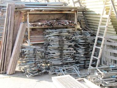 Скелетна конструкция - Layher 500 m ² Assco Quatro