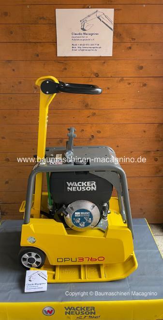 Wacker Neuson DPU 3760Hts Rüttelplatte NEU