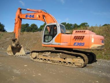 Excavadora de cadenas - Fiat-Kobelco E385 LC