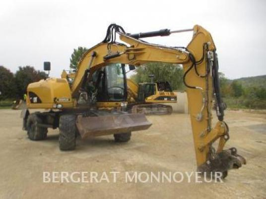 Mobile excavator - Caterpillar M313D