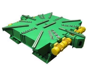 Forma bloku betonowego - Knauer Knauer Engineering Rütteltisch - Vibrating table