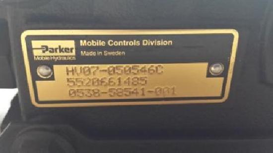 Terex Original Terex - Schaeff 5520661485 STEUERVENTIL HV07-050546C / 0538-58541-001