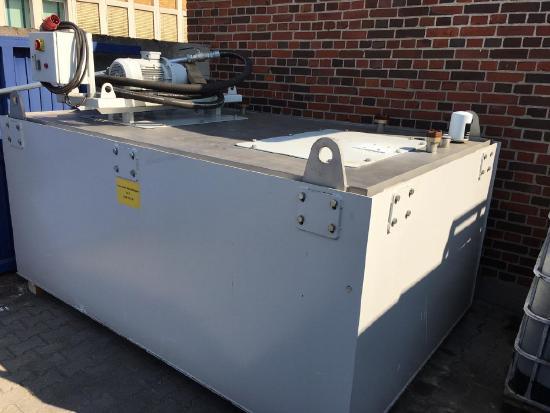 Ultra Safe 620 Edelstahltank mit Rollen, Öltank, Hydraulikflüssigkeit Ultra-Safe 620