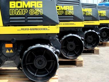 Rullo manuale - Bomag Grabenwalze BOMAG BMP 851 ** 850 mm** vgl. RW 1504