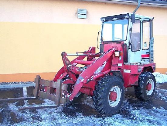 Gehl Radlader Allrad KL 405 wheelloader Palettengabel