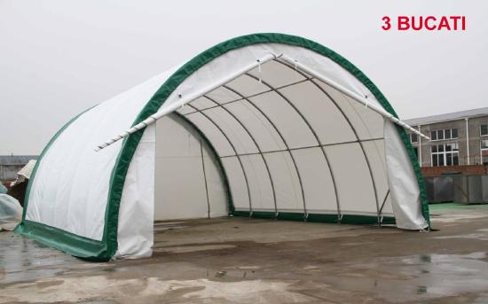 Industrial shelter tent Model: XL-203012R, new, W 6.1m* L 9,15 m*H 3.66 m