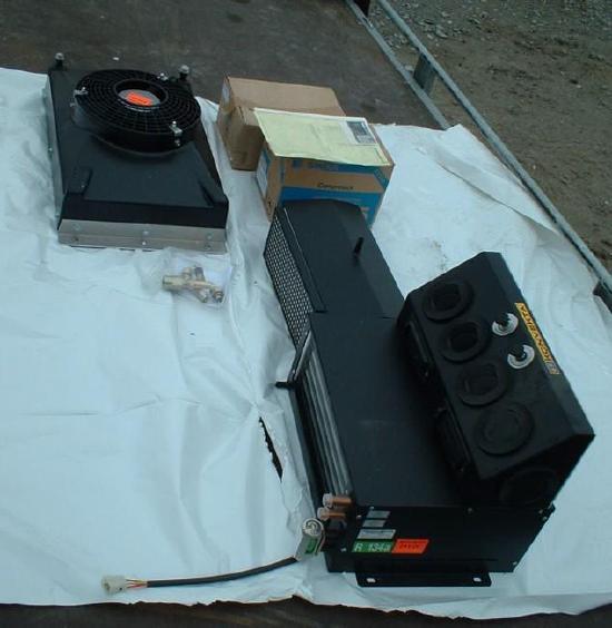 Konvekta KL 2-SPL/4/24V Klimaanlage komplett