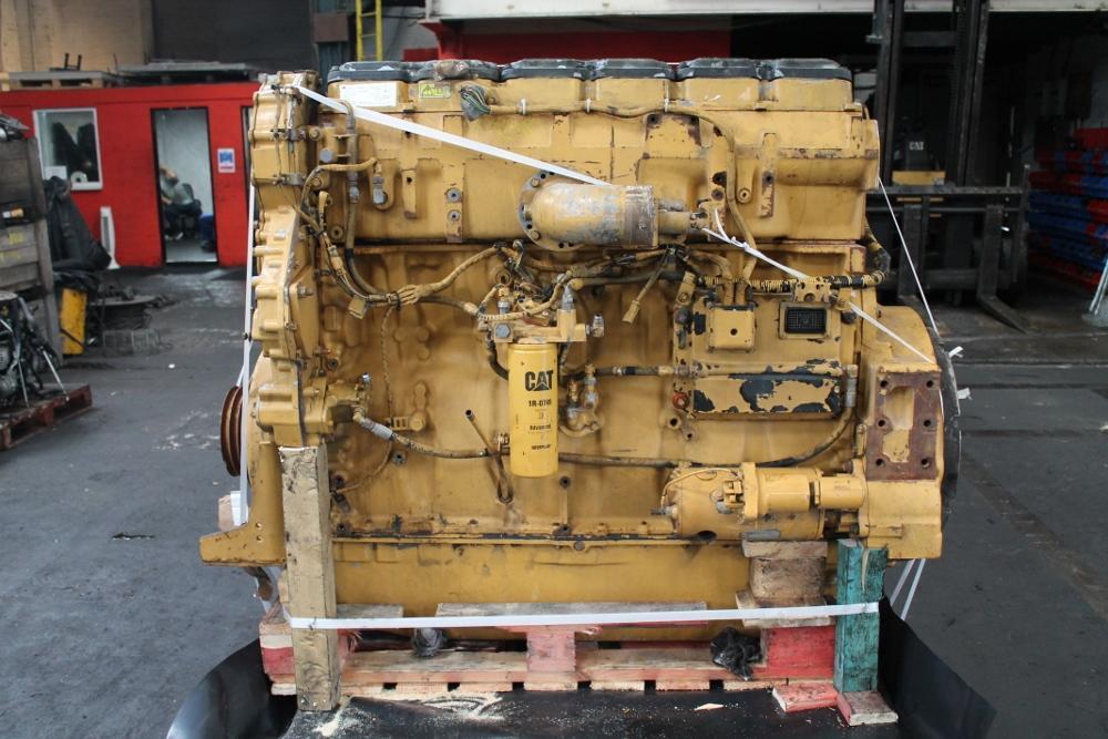 Caterpillar C18 ACERT Diesel Engine used DE / RGHB-4121-BC