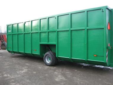 Altro - STP STALPROFIL Feldrandcontainer/Slurry Container 66 cbm