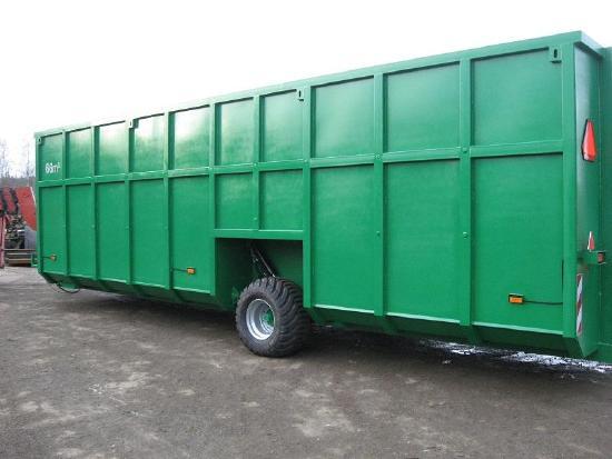 STP STALPROFIL Feldrandcontainer/Slurry Container 66 cbm