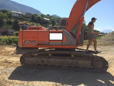 Zincirli ekskavatör - Kobelco E215B