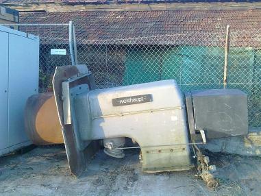 nepokretna mješalica za asfalt - Weishaupt Weishaupt Gas burner