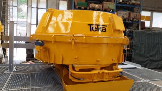 Teka THZ 500 THZ 750 THZ 1125 Reconditioned TEKA Mixer THZ 500, 750 or 1125