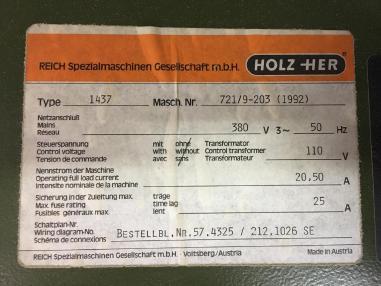 Станок для склеивания - Holz-Her Express 1437