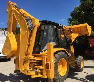 Backhoe loader - Caterpillar 428 B