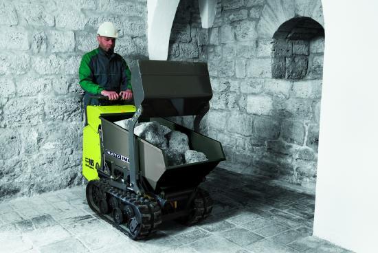 Kato Carry 105 electricPower mit Selbstladeschaufel