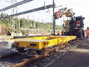 3688RR Gleisbau Anhänger 20T Gleisbau Anhänger 20 Ton /  25 Ton /   29 Ton